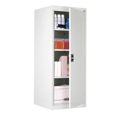 Elite Series Storage Cabinet, 24 x 24 x 60, White