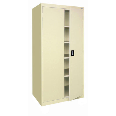 Elite Series Storage Cabinet, 36 X 18 X 78, Putty