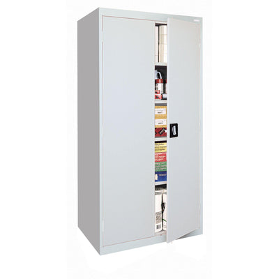 Elite Series Storage Cabinet, 36 x 24 x 78, Dove Gray