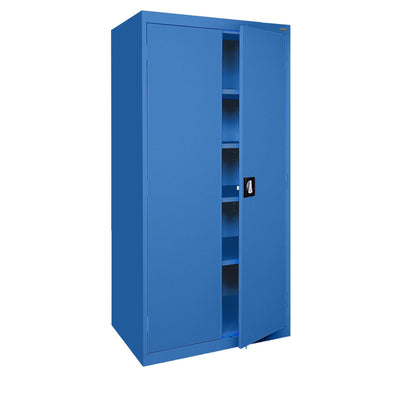 Elite Series Storage Cabinet, 46 x 24 x 72, Blue