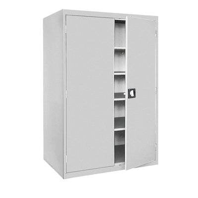 Elite Series Storage Cabinet, 46 x 24 x 72, Dove Gray  Elite Series Storage Cabinet, 46 x 24 x 72, Tropic Sand, Dove Gray
