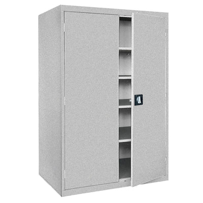 Elite Series Storage Cabinet, 46 x 24 x 72, Multi Granite