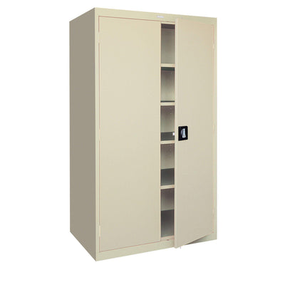 Elite Series Storage Cabinet, 46 x 24 x 72, Putty