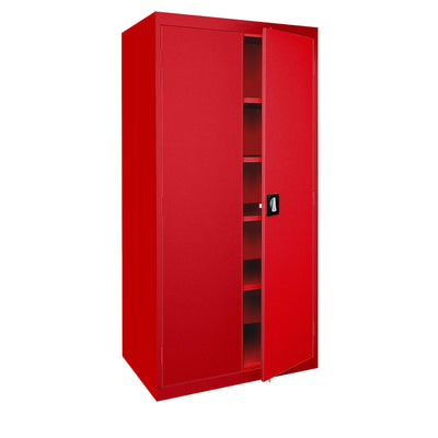 Elite Series Storage Cabinet, 46 x 24 x 72, Red