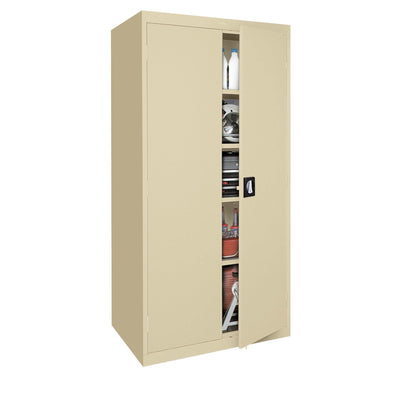 Elite Series Storage Cabinet, 46 x 24 x 72, Tropic Sand