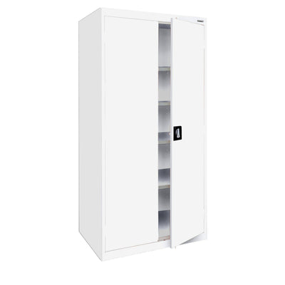 Elite Series Storage Cabinet, 46 x 24 x 72, White