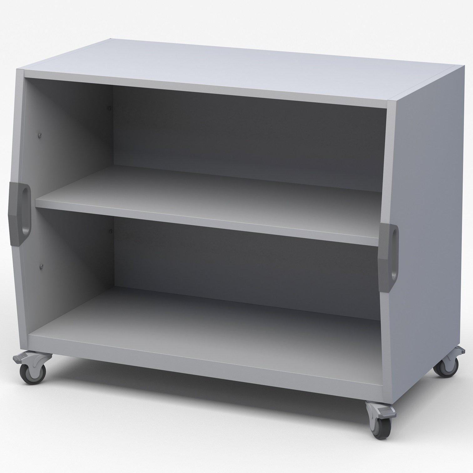 Explorer Series Cubby Storage Cart-Storage Cabinets & Shelving-Open Format-