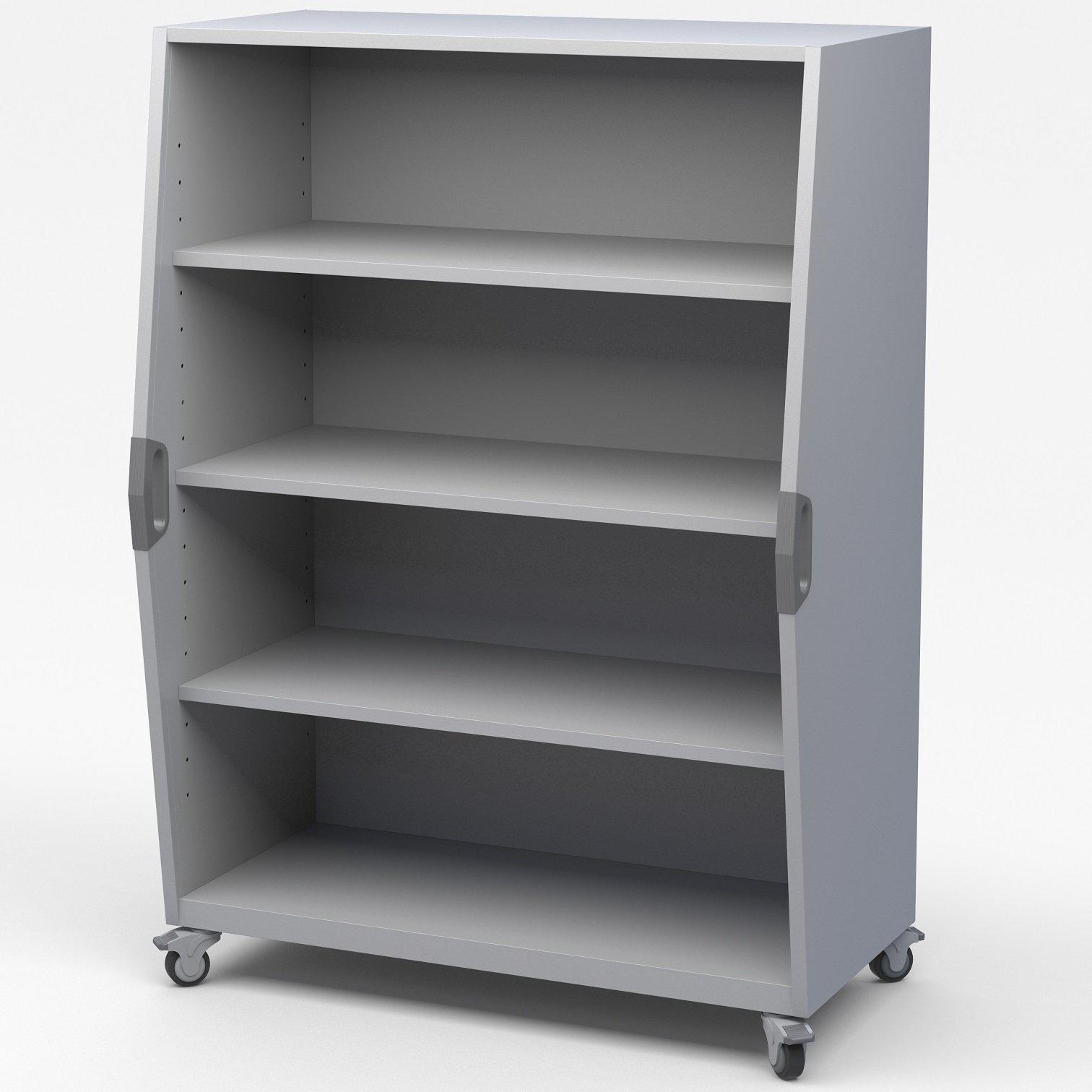 Explorer Series Tall Storage Cart-Storage Cabinets & Shelving-Open Storage-