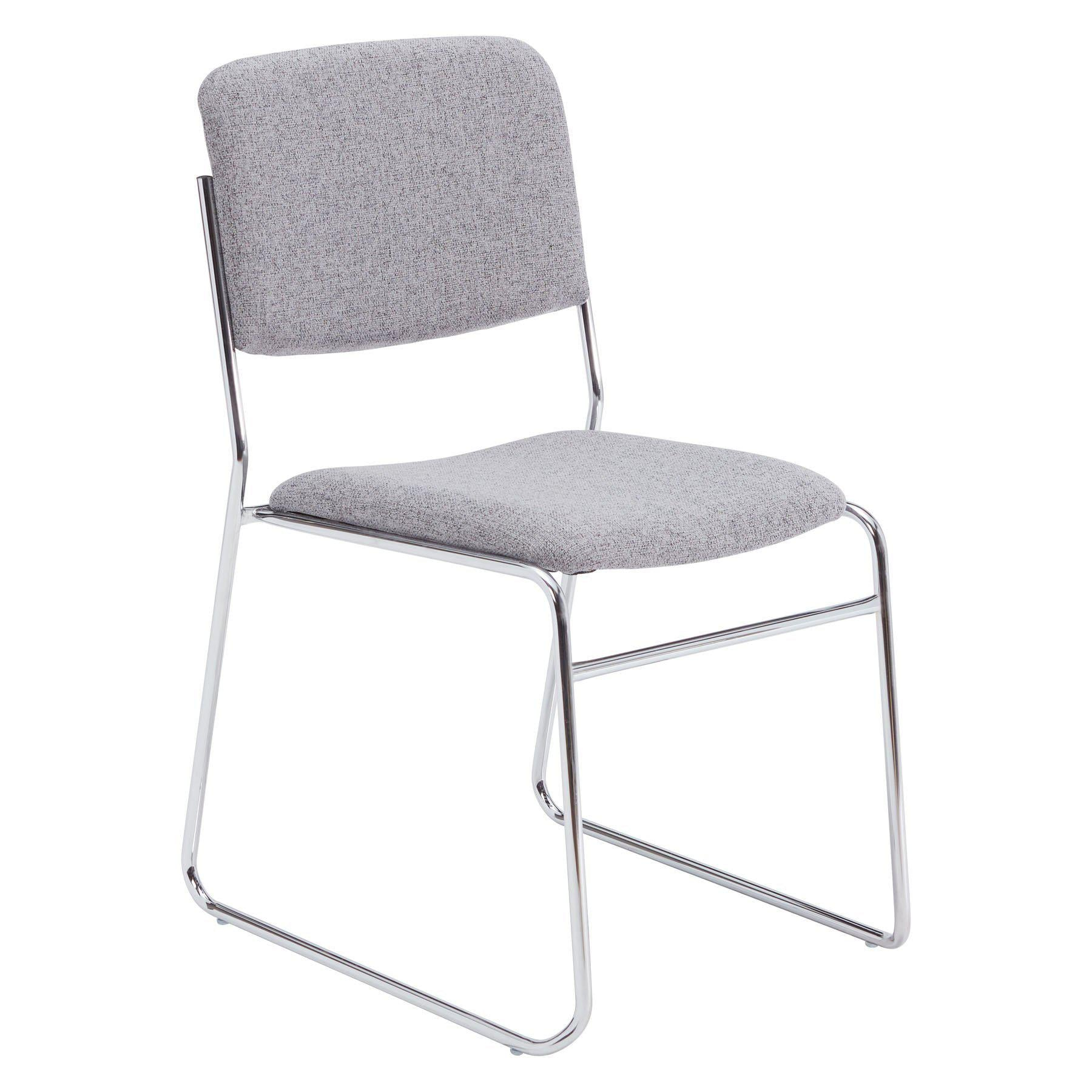 Fabric Padded Signature Stack Chair