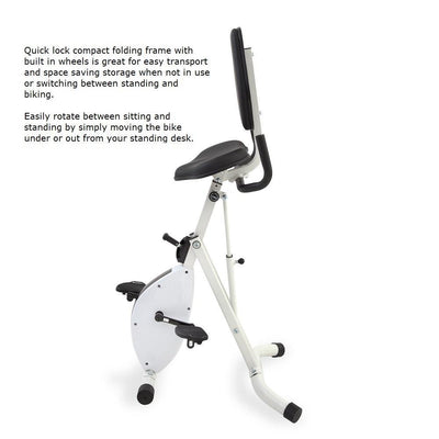 Nextgen Folding Standing Desk Bike with Free Shipping