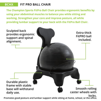 Fitpro Ball Chair-Chairs-