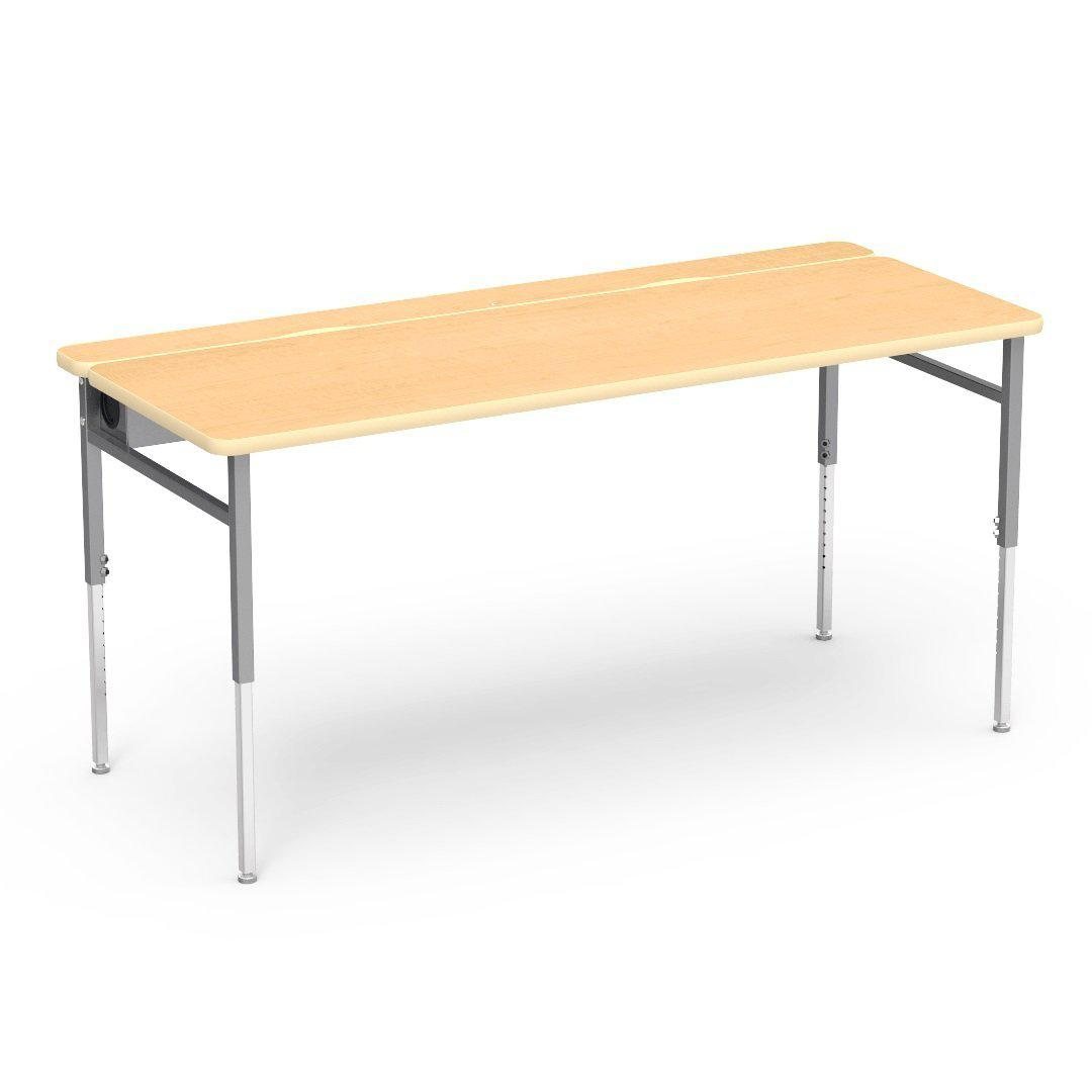 "Flip-Top Adjustable-Height Technology Tables, 30"" Deep-Tables-"