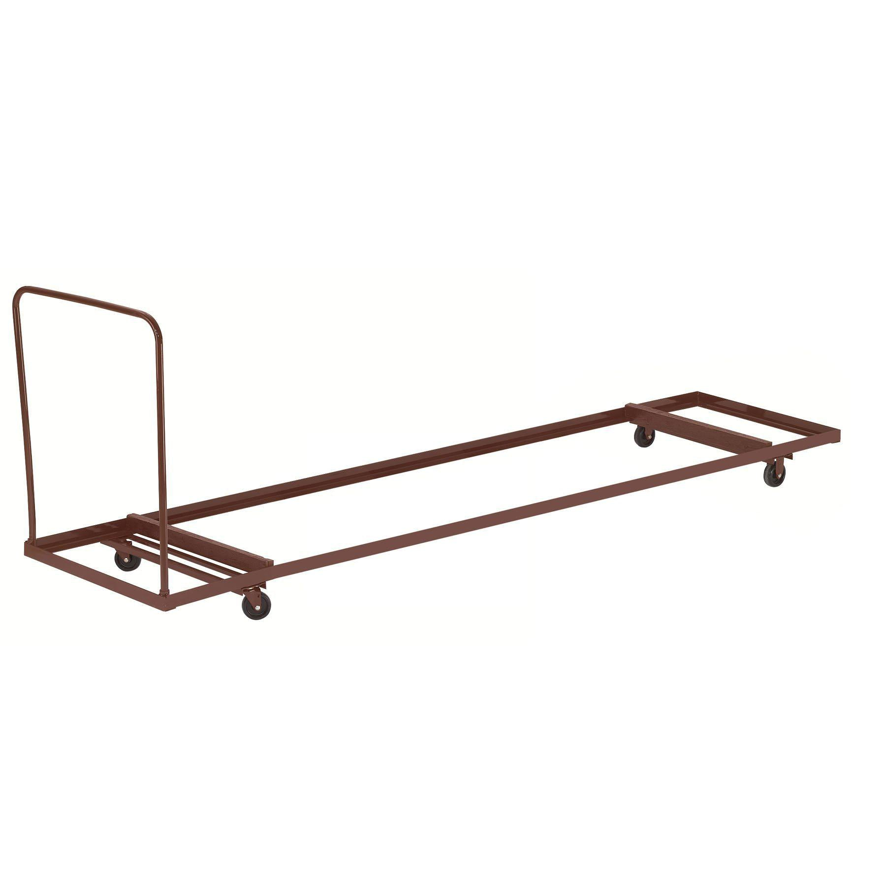 "Folding Table Dolly For Horizontal Storage, Up To 72""L"