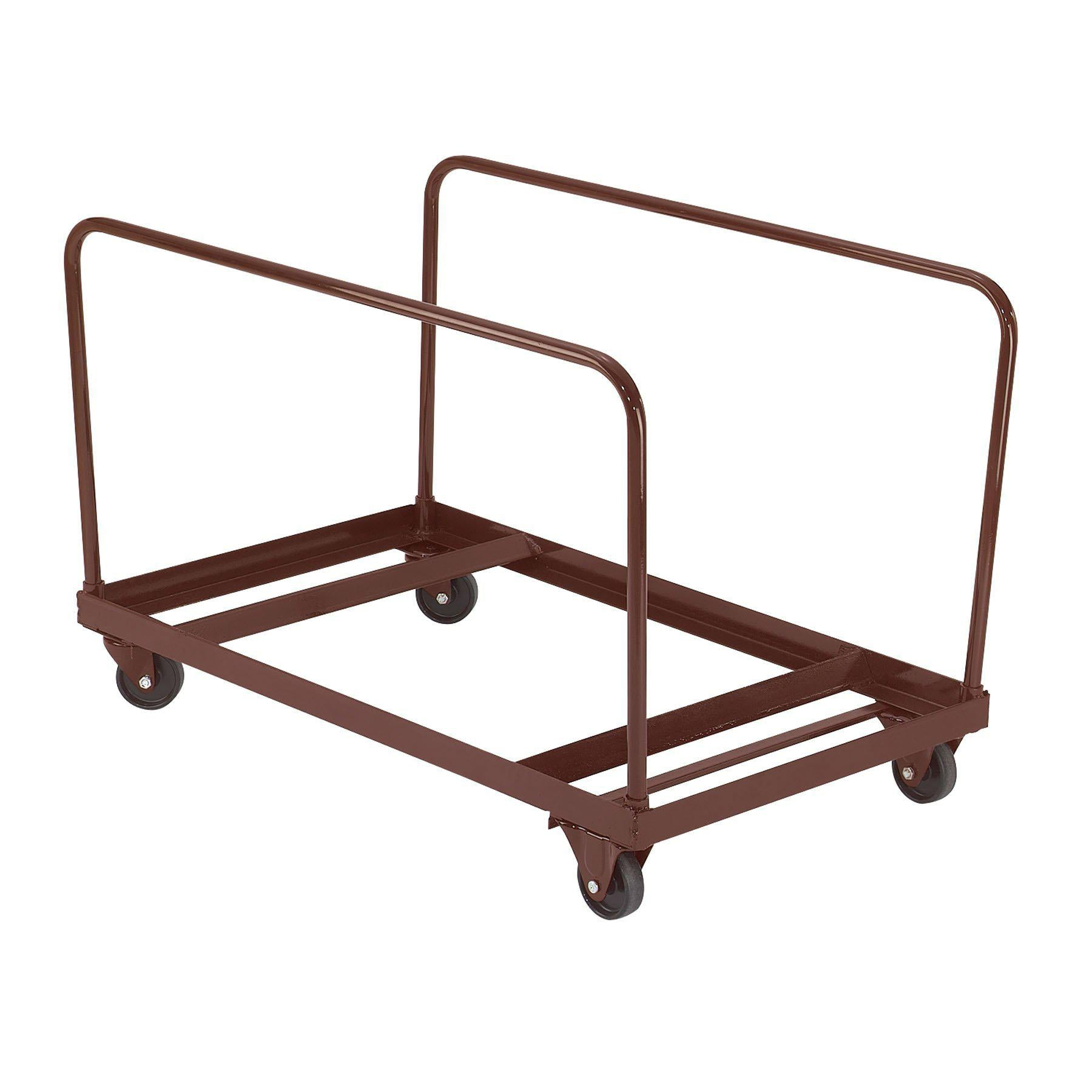 "Folding Table Dolly For Vertical Storage, 48"" & 60"" Round Tables"