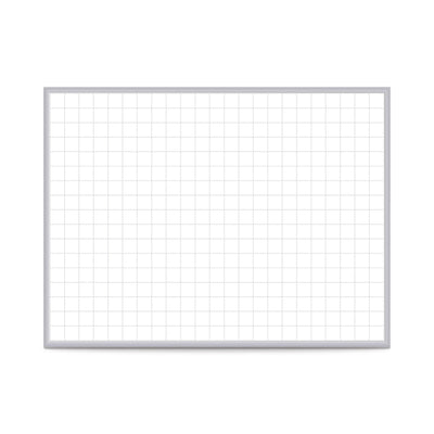 "Graphics Grid Whiteboard-Boards-Non-Magnetic-2'H x 3'W-2"" x 2"""