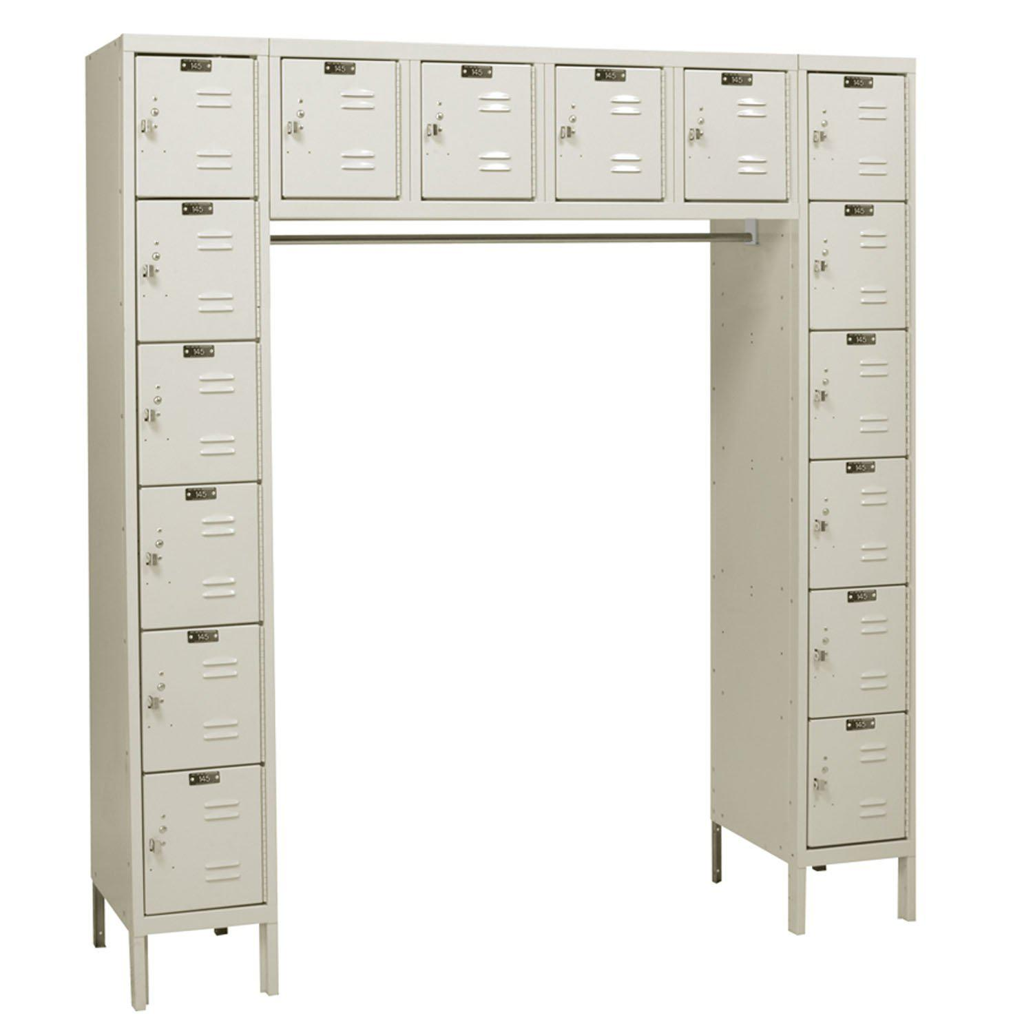 Hallowell Premium 16-Person Lockers-Lockers-No-Parchment-