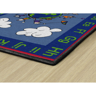 Happy World Rugs-Classroom Rugs & Carpets-