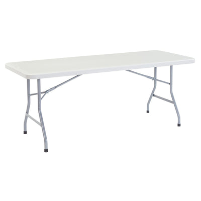 "Heavy Duty Folding Table, Speckled Gray-Tables-30"" x 72""-"