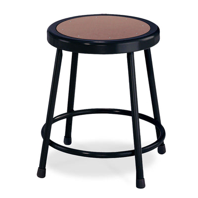 "Heavy Duty Steel Stool-Stools-18""-Black-"