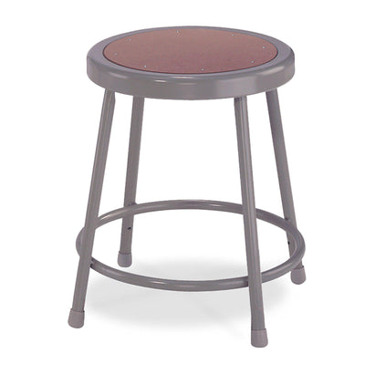 "Heavy Duty Steel Stool-Stools-18""-Grey-"
