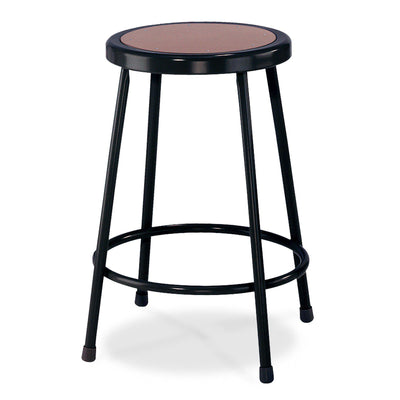 "Heavy Duty Steel Stool-Stools-22""-Black-"