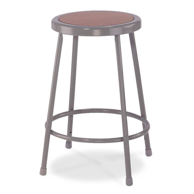 "Heavy Duty Steel Stool-Stools-22""-Grey-"