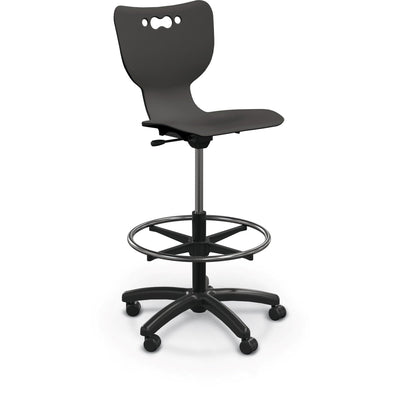 Hierarchy 5-Star Stool-Stools-Black-