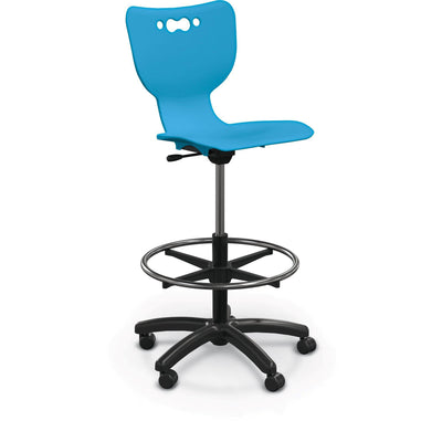 Hierarchy 5-Star Stool-Stools-Blue-