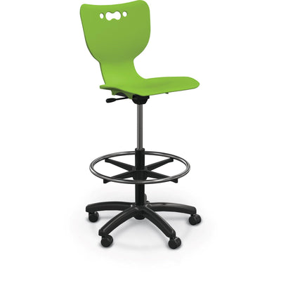 Hierarchy 5-Star Stool-Stools-Green-