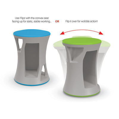 Hierarchy Flipz Stacking/Rocking Stool-Stools-
