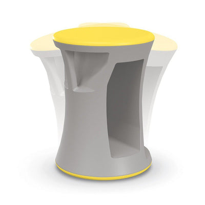Hierarchy Flipz Stacking/Rocking Stool-Stools-Yellow-