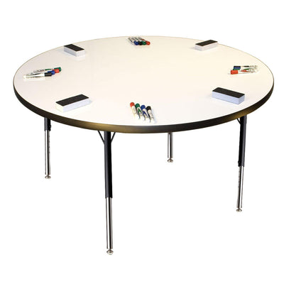 "Imagination Stations Activity Tables with Markerboard Tops-Tables-36"" Circle-20.5"" - 29.5"", Adj.-"