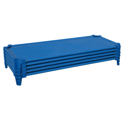 Incredible Cot Set of (5) Factory Assembled, Blue