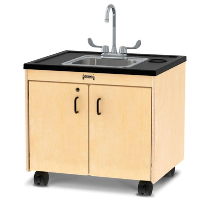 "Jonti-Craft® Clean Hands Helper with Water Heater-Pre-School Furniture-26""-Stainless Steel-"