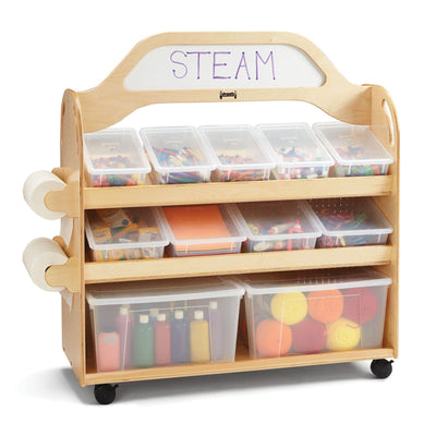 Jonti-Craft® STEAM Multimedia Cart-Pre-School Furniture-