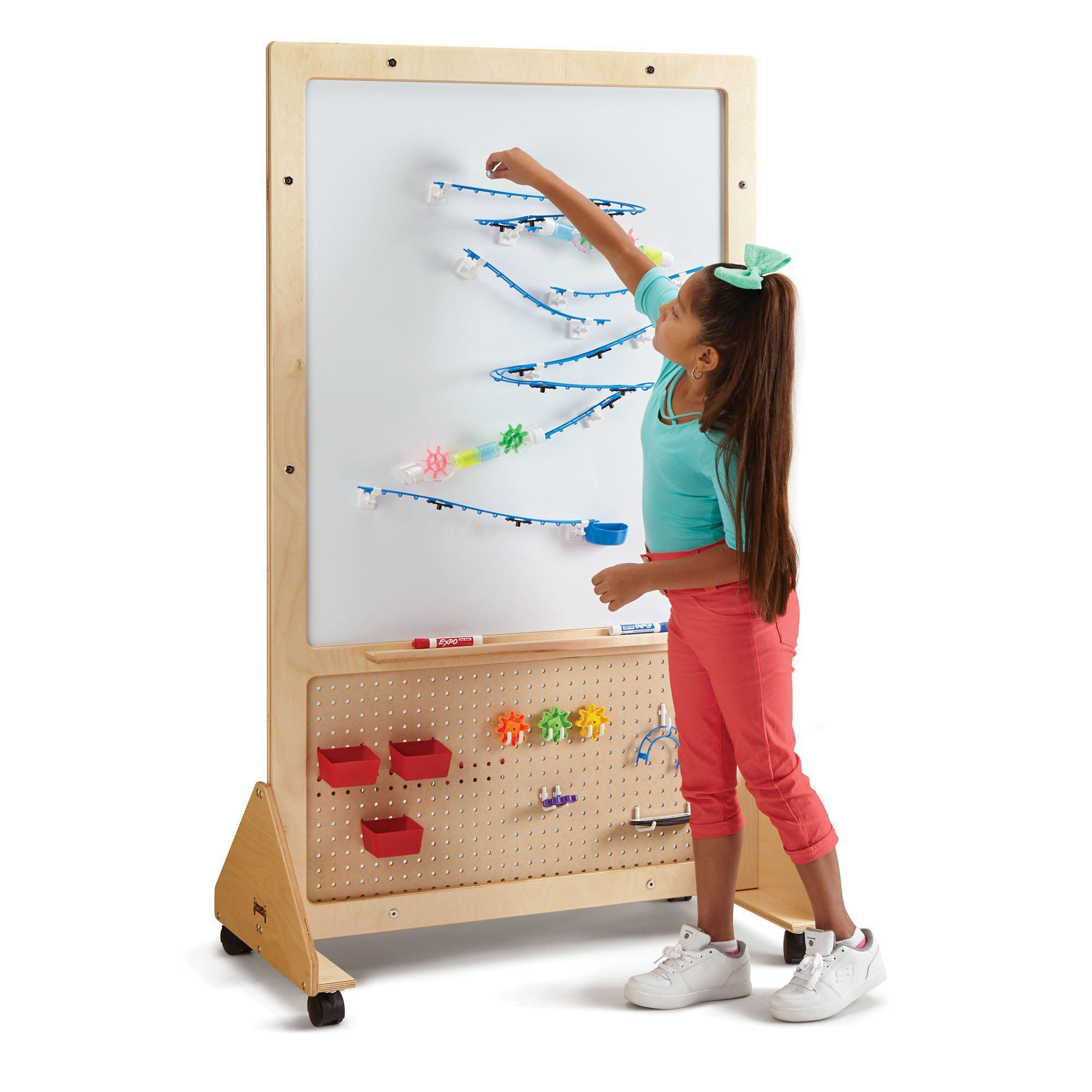 Jonti-Craft® STEM Mobile Creativity Board-Pre-School Furniture-