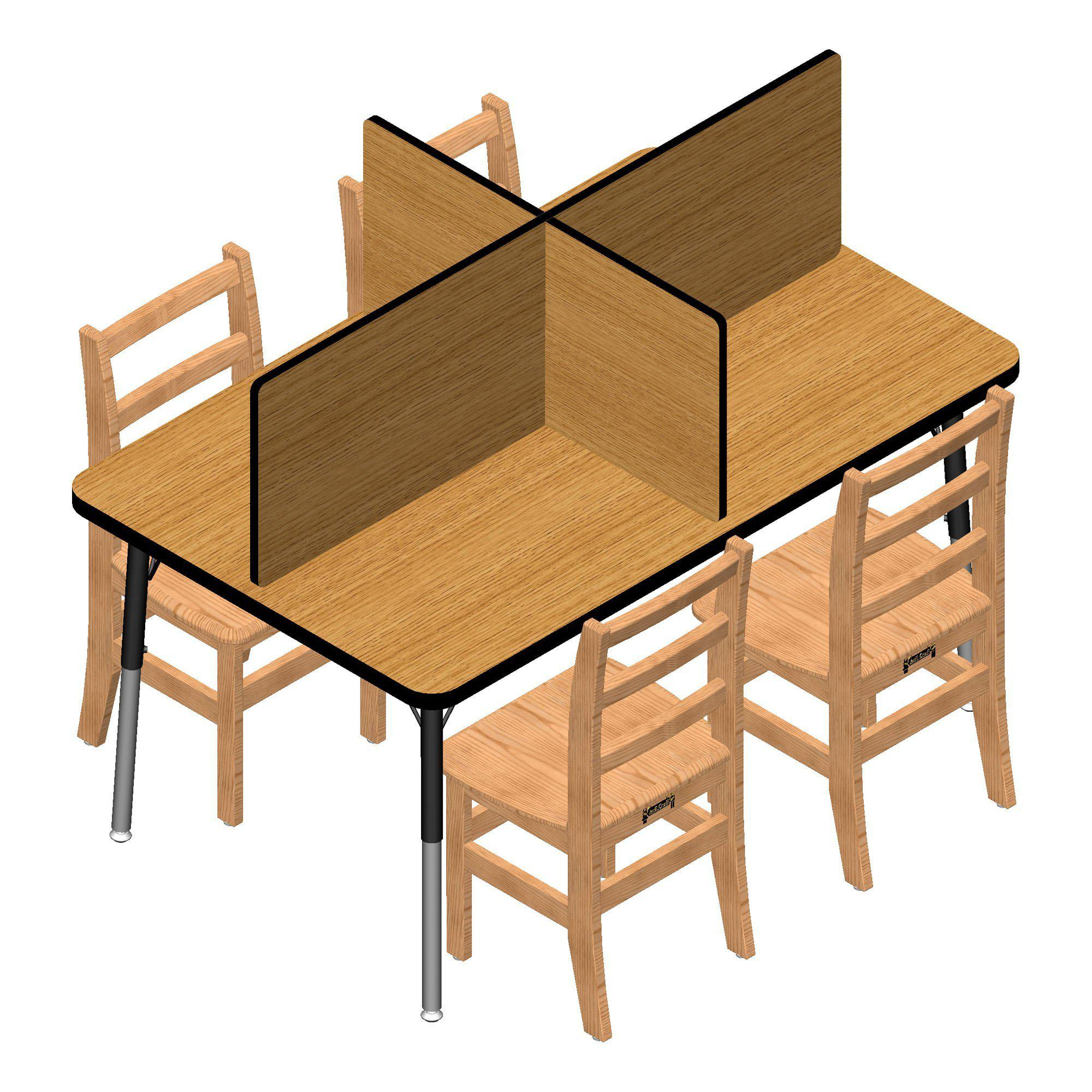Jonti-Craft® Study Carrels