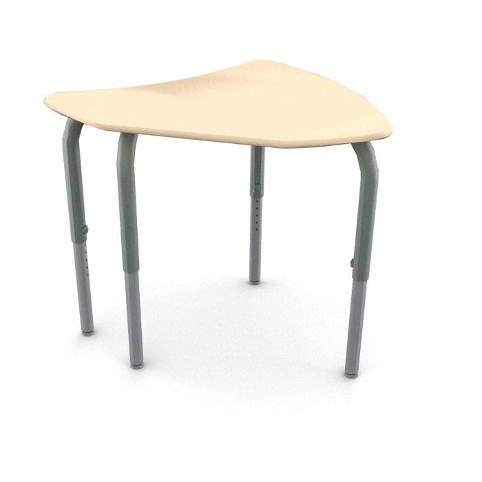 Kaleidoscope Collaborative Learning Intersect Desk with Solid Plastic Top