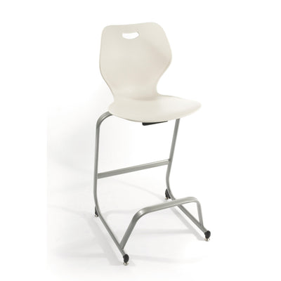 "Intellect Wave Café Stool, 30"" Seat Height"