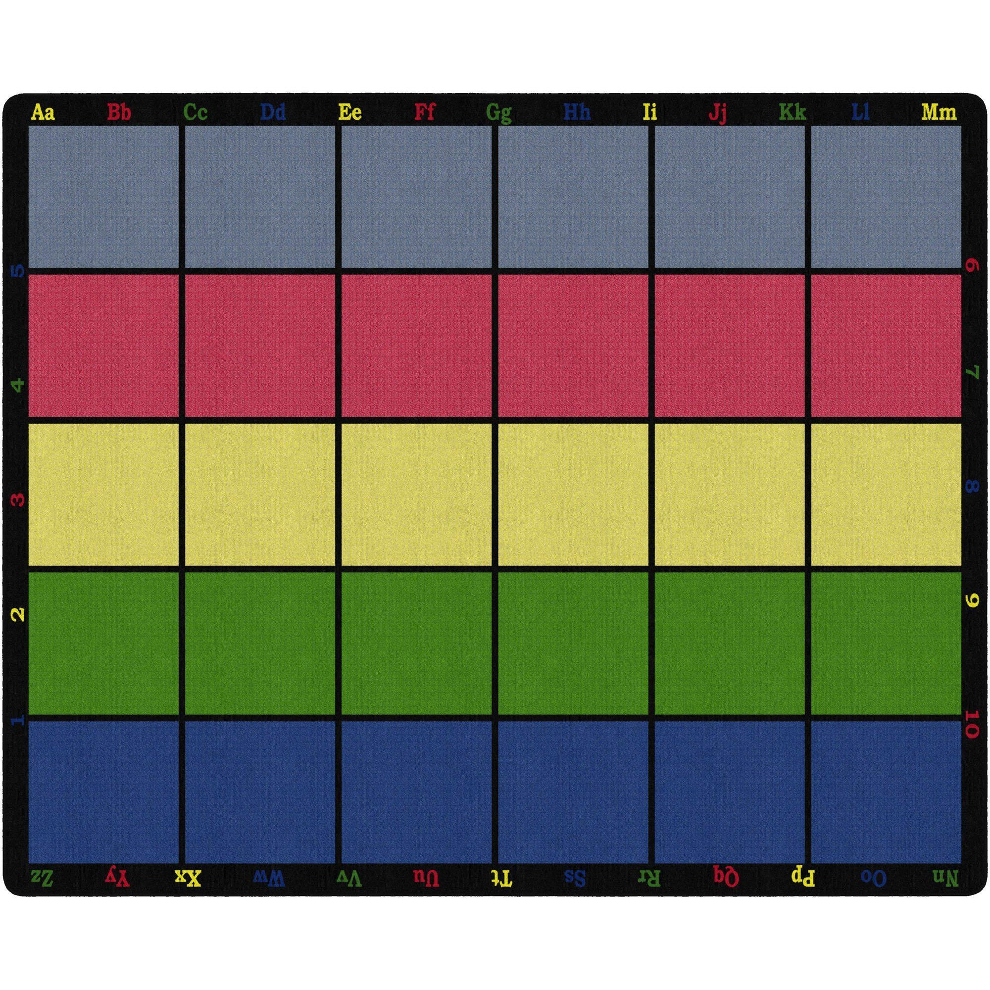 Learning Grid Rugs-Classroom Rugs & Carpets-