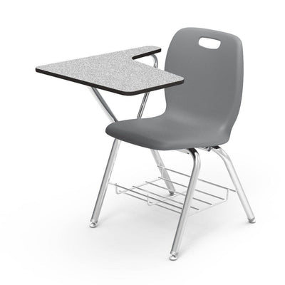 N2 Series Tablet Arm Chair Desk-Chairs-Graphite-Grey Nebula-