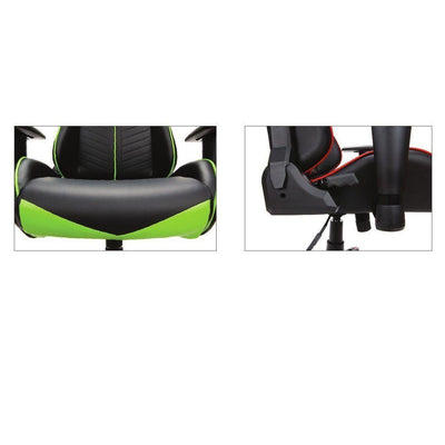NextGen Leather Deluxe High-Back Gaming Chair-Chairs-