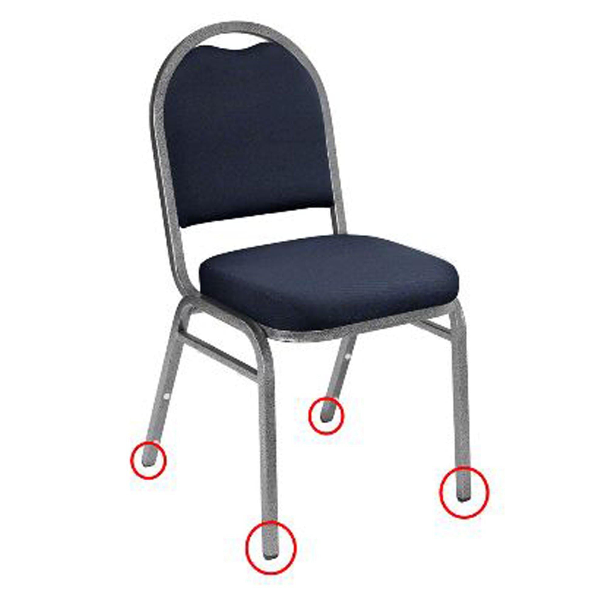 NPS Floor Glides for 9200 and 9300 Series Stacking Chairs (Pack of 50)-Chairs-