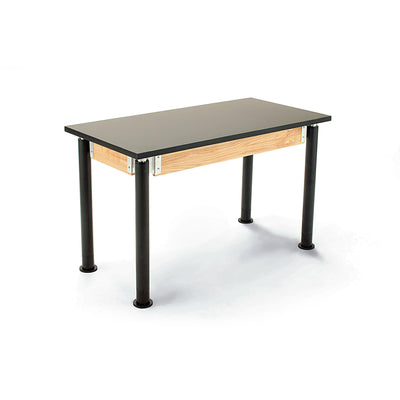 NPS Superior Science Lab Tables with Phenolic Top, Contemporary Styled Height Adjustable Legs-Science & Lab Furniture-