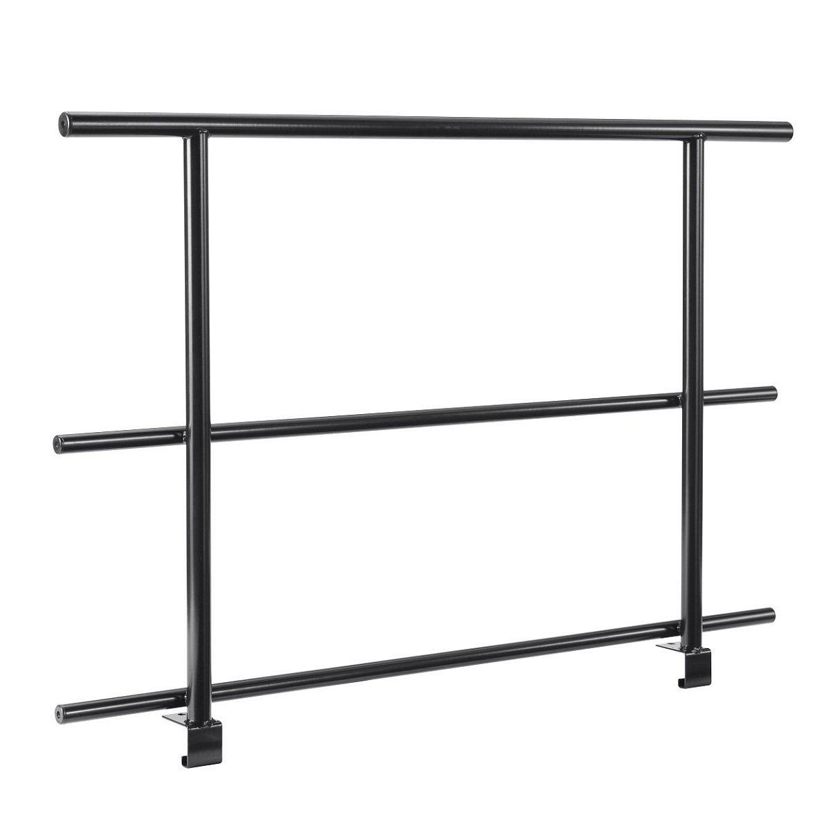 NPS® Back Guard Rails for 4 Level Straight Standing Choral Risers-Stages & Risers-