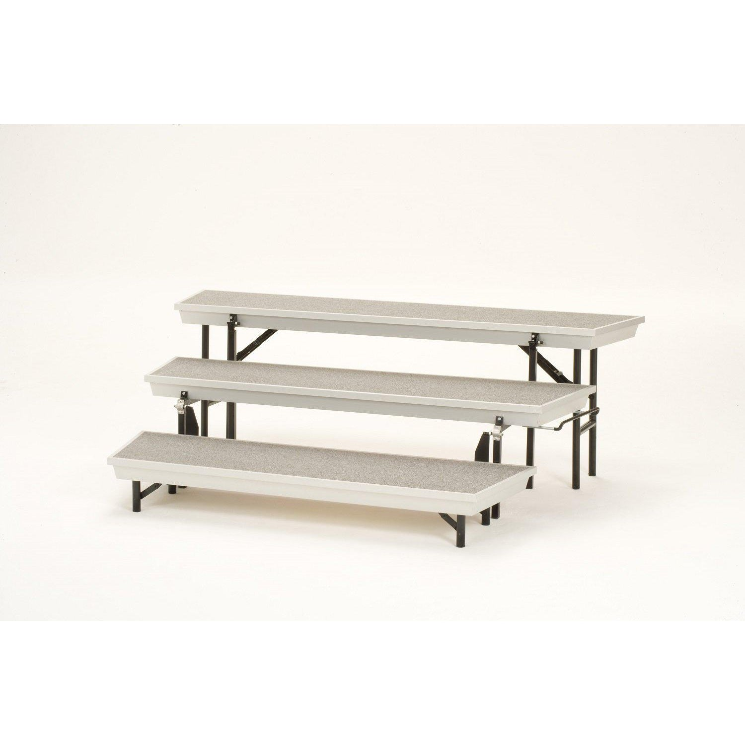 NPS® TransPort 3-Level Tapered Choral Riser-Stages & Risers-
