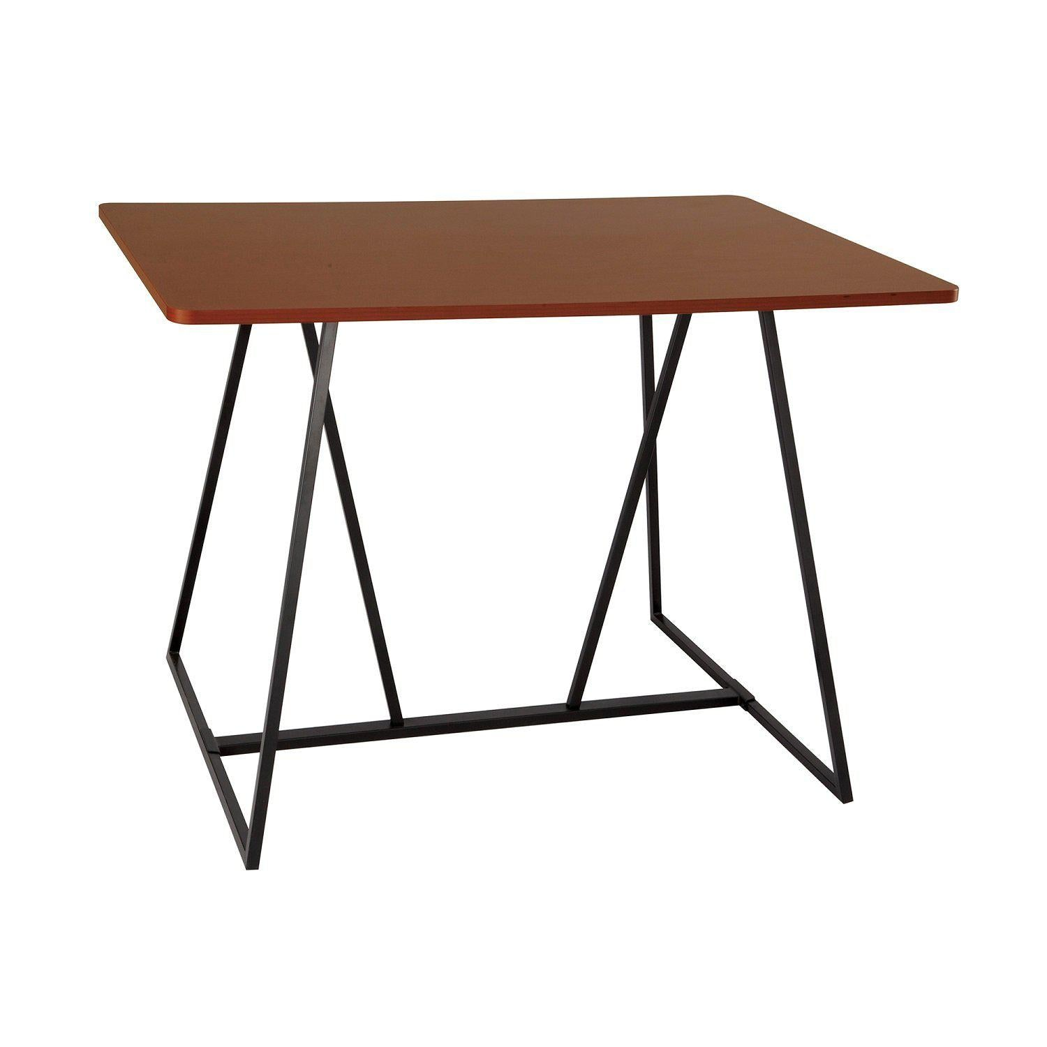 Oasis™ Standing Height Teaming Table-Cherry-