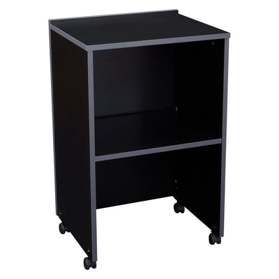 Oklahoma Sound® AV Cart/Lectern Base-Audio-Visual/Presentation-Black-