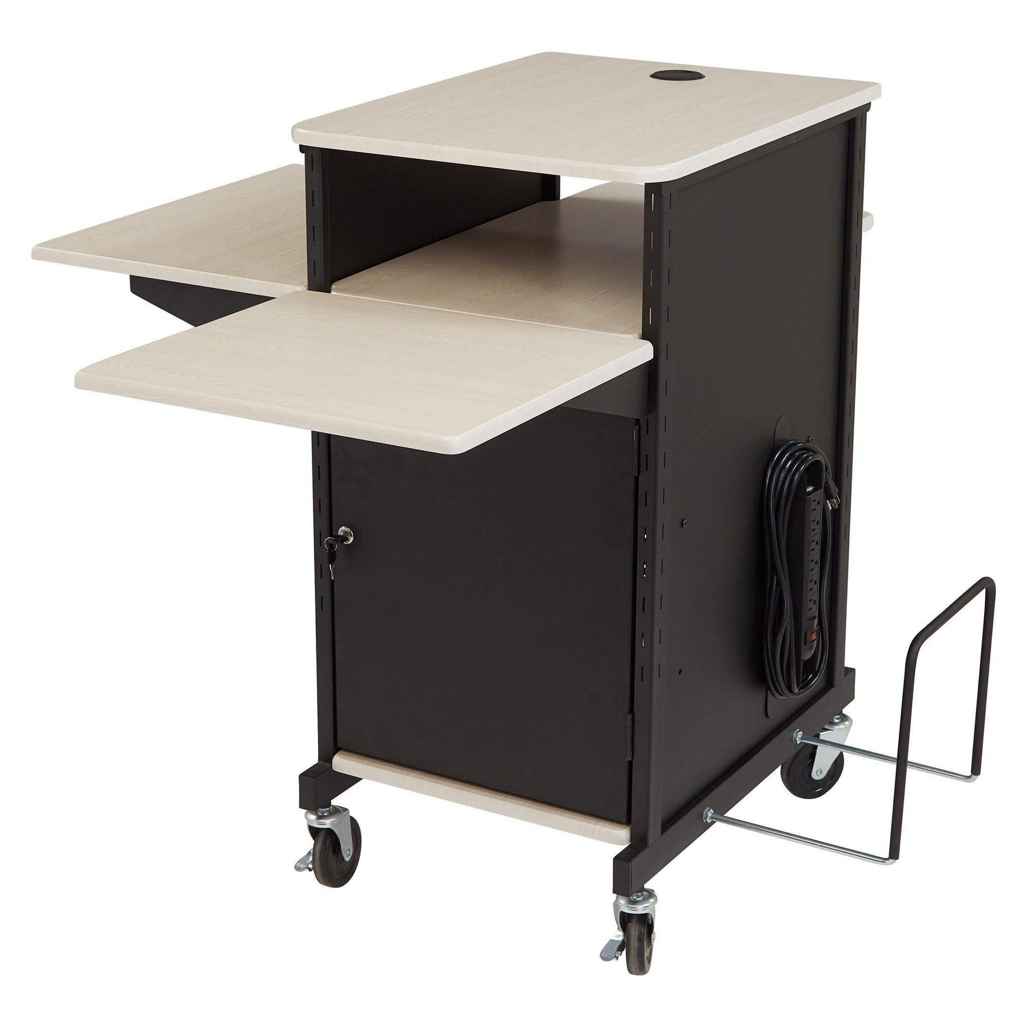 Oklahoma Sound® Jumbo Plus Presentation Cart-Audio-Visual/Presentation-