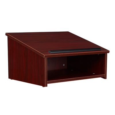 Oklahoma Sound® Tabletop Lectern-Lecterns & Podiums-Mahogany-